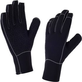 Sealskinz Neoprene Gloves Herre black/charcoal